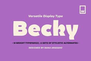 Becky 85%OFF