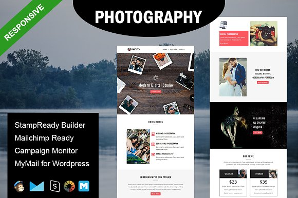 Photography Email Template