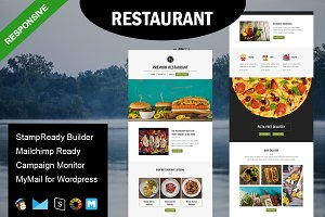 Restaurant - Email Template