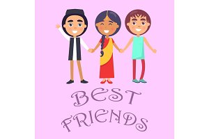 Best Friends International Holiday for Children Poster