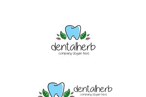 Dental Herb Logo