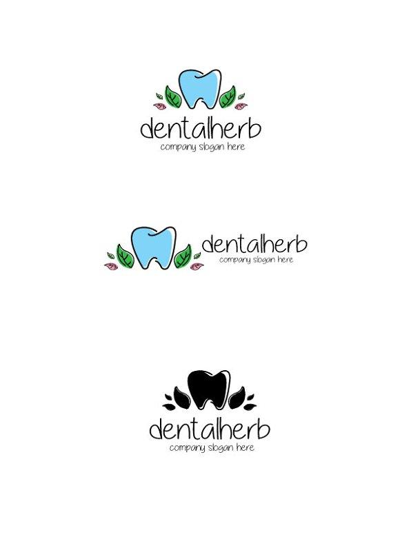 Dental Herb Logo