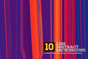 10 Line Abstract Background V.1