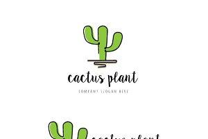 Cactus Plant Logo