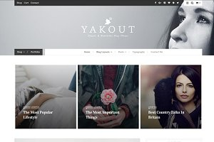 80% OFF Yakout - Personal WordPress
