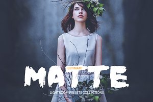 Ultimate Matte Lightroom Presets