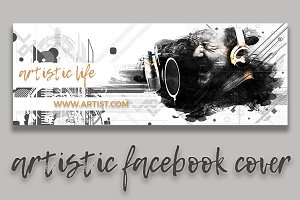 Artistic Facebook Cover II