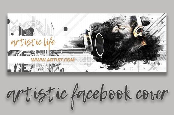 Artistic Facebook Cover II