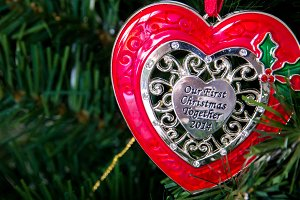 Our First Christmas Ornament 2014