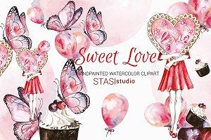 Love Clipart Pink Butterflies