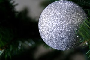 Sparkly Christmas Ornament