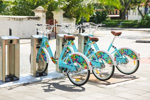 Bike sharing in Penang