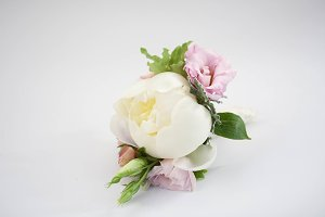 Boutonniere with pion
