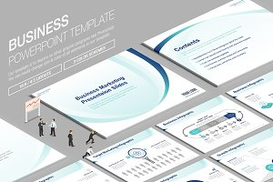 Business Powerpoint Template vol.17