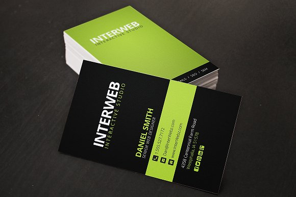Web designer business card fieldstation web designer business card reheart Images