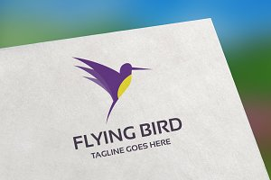 Flying Bird Logo