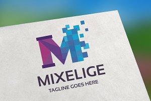 Mixelige Logo