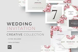 Creative Wedding - Invitations