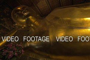 Reclining Buddha statue in Wat Pho temple, Bangkok