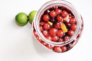 Cranberry Kombucha Sangria
