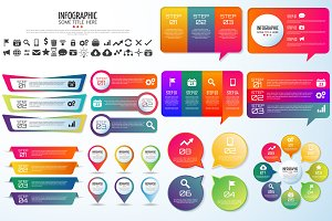 10 QUOTES INFOGRAPHICS [AI+PSD]