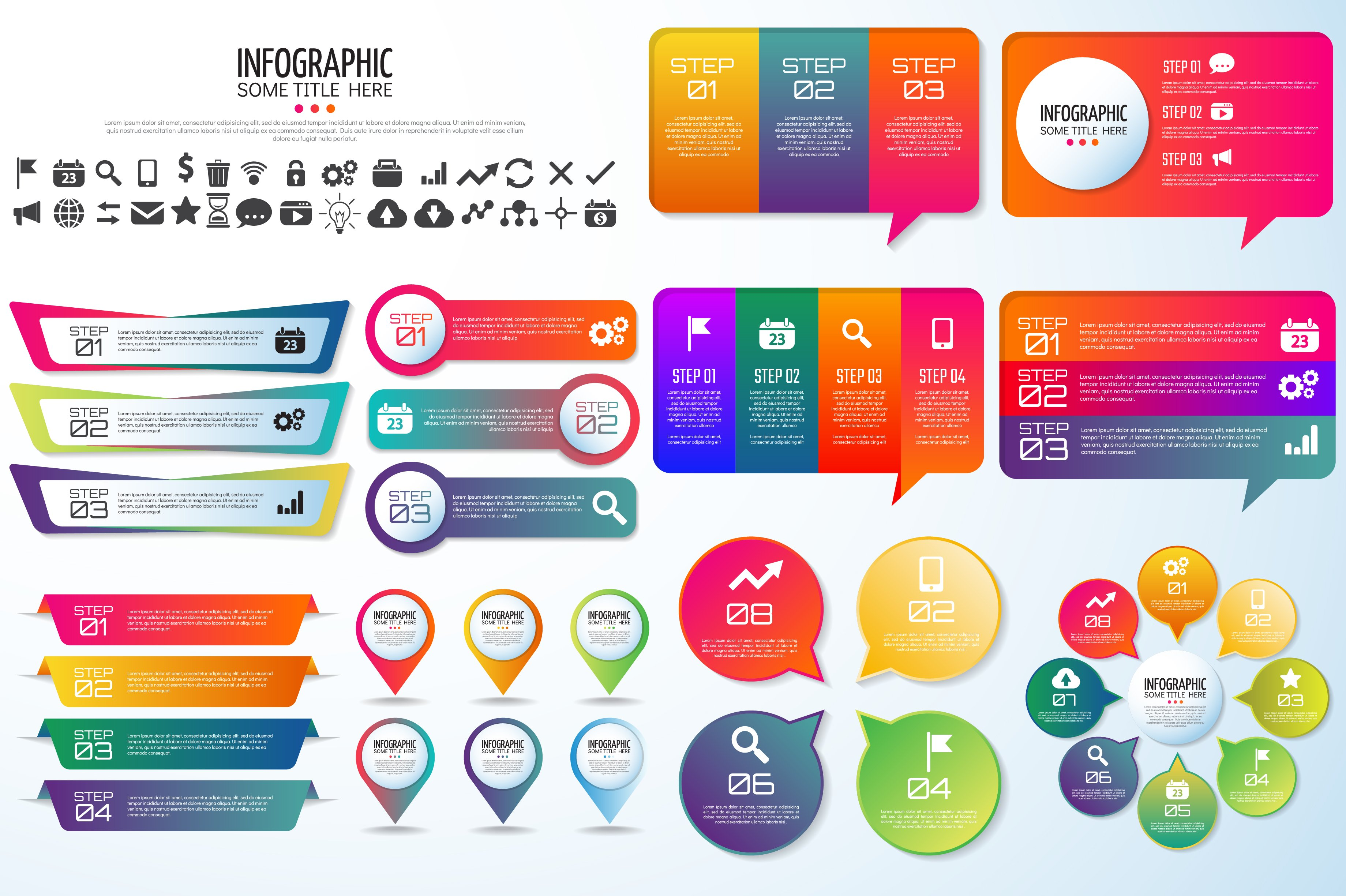 10 Quotes Infographics Aipsd Illustrations Creative Market
