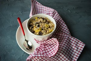 Healthy breakfast