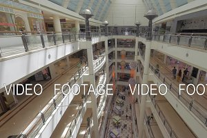 Inner view of Suria KLCC Shopping mall, Kuala Lumpur