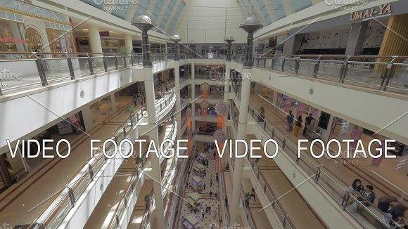 Inner View Of Suria KLCC Shopping Mall Kuala Lumpur