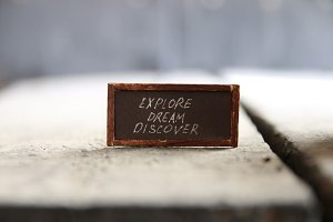 Explore Dream Discover idea
