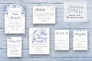 Wedding Invitation Suite - Olivia