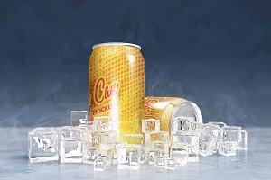 Soda Can Mock ups
