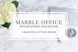 Marble Office Styled Stock
