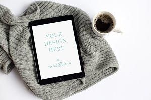 Styled iPad Mockup
