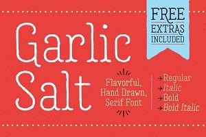 Garlic Salt Font Family