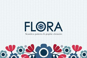 Flora Patterns and Graphics