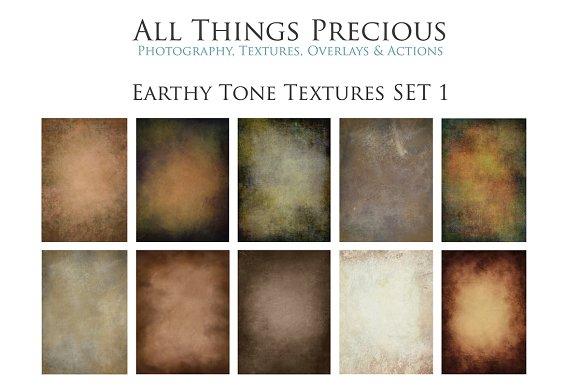 Earthy Tone Textures SET 1