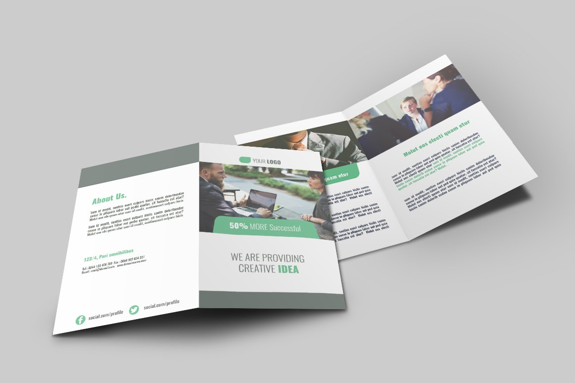 bi fold brochure template publisher - business bi fold brochure v009 brochure templates