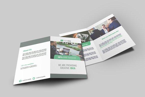 Business Bi Fold Brochure - v009