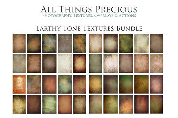 Earthy Tone Textures Bundle