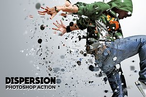 Dispersion Photoshop Action