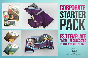 Corporate Starter Pack Psd Template