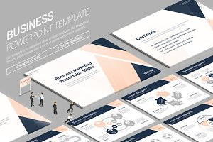 Business Powerpoint Template vol.18