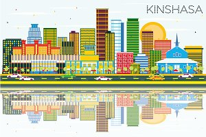 Kinshasa Skyline