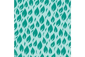 Seamless pattern leaves vector illustration nature design floral summer plant textile