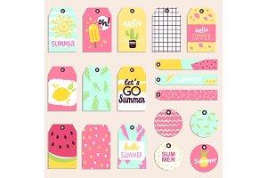 Super summer seasonal sale extra bonus banner clothes tag text label business shop internet promotion discount vector illustration