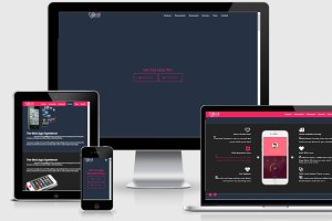 VOID HTML5 App Landing Page