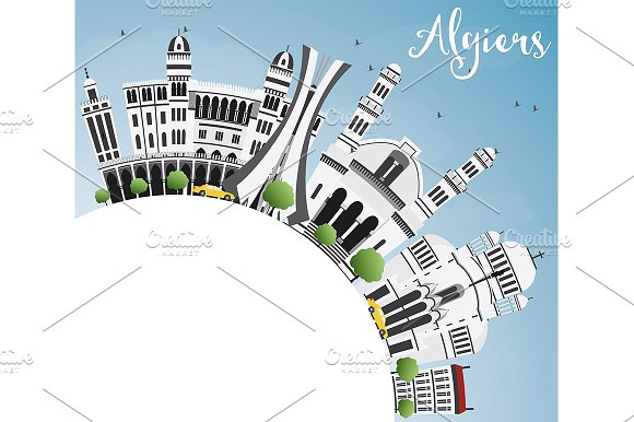 Algiers Skyline