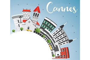 Cannes Skyline
