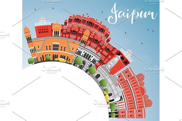 Jaipur Skyline